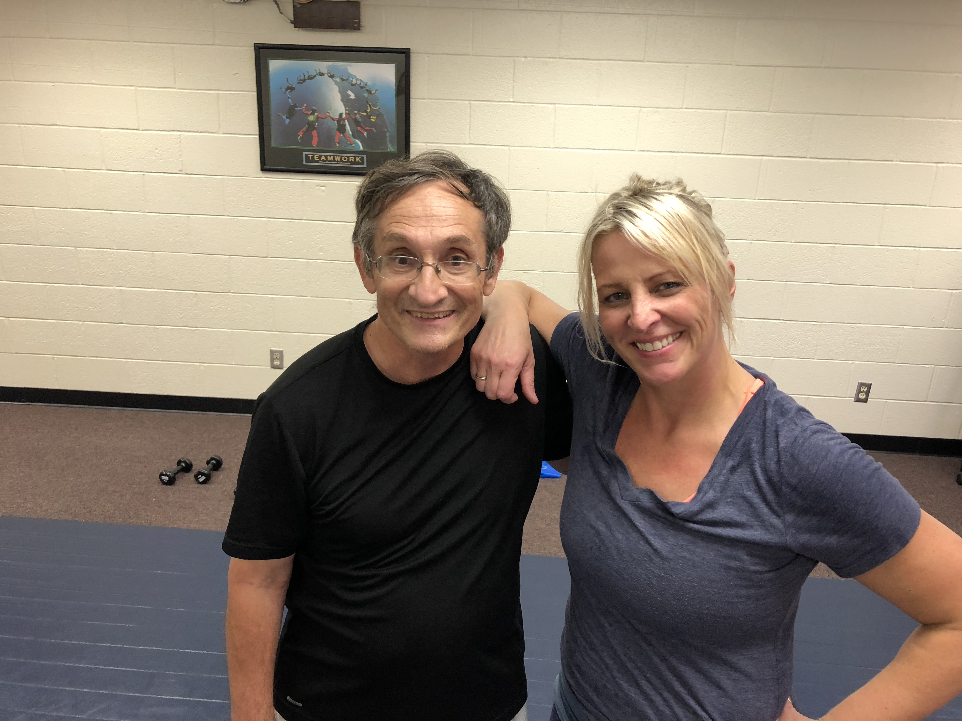 Nso Fitness Michael English and Kim Bean